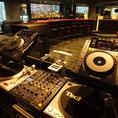 【無料設備】DJブースも無料で利用可能♪
