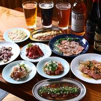 北海道のクラフトビールと北海道のお肉っ!