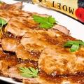 料理メニュー写真グリルドポークジンジャーソース