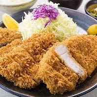 メガ盛り定食 1800円 (税込)