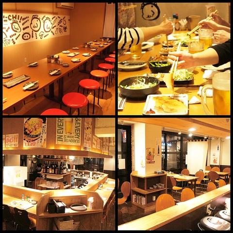 オシャレ・安い・旨い!蕎麦処★個室・カウンター・テーブル…シーンで選べるお席完備