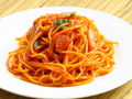料理メニュー写真ナポリタン/カルボナーラ