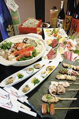 そば旬菜 奥京 甲府駅前店のコース写真