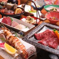 『志ほ』のご宴会コース。旬魚はもちろん、宮崎牛も堪能