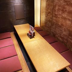 接待向きの完全個室のお席です。