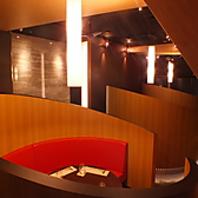 『竹』をイメージした個室空間!