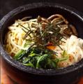 料理メニュー写真薩摩特製 石焼ビビンバ(スープ付き)