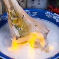 料理メニュー写真ニシ貝(海鮮スープ)