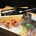 ※料理に合う日本酒・焼酎種類豊富にご用意あり。各種コース追加料金無しで日本酒・プレミアム焼酎・生ビール飲み放題。