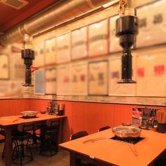 4名テーブル×2卓ございます。緑橋駅から徒歩4分と駅チカなので普段使いから小宴会でのご利用にもピッタリです!