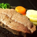 料理メニュー写真黒毛和牛 特選ステーキ 150g