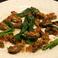 料理メニュー写真燻製した牡蠣のアニョーグリエ  つぶ貝ときのこのブルゴーミュ風ソテー