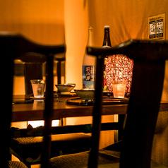 プライベートな空間で創作和食をお楽しみください。無制限飲み放題付プランは2980円~ご用意しております◎宴会,飲み会,女子会に是非ご利用ください◎