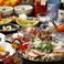 ◆秋の会席コース【宴】 飲み放題付(2時間30分) 全8品◆4500円 絶品お料理をリーズナブルに堪能できるお得なコース。各種ご宴会に!