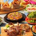 当店おすすめのハワイアン料理が楽しめる、ご宴会におすすめのコースを各種ご用意♪(写真はイメージ)
