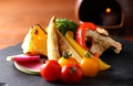 料理メニュー写真炭焼き野菜の新和風バーニャカウダ
