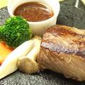 料理メニュー写真黒毛和牛 上ステーキ 150g