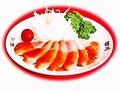 料理メニュー写真鴨のローストチリソース
