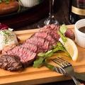 料理メニュー写真牛ハラミのステーキ(シャリピアン/ピンクソルト)