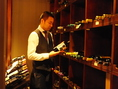 ワインセラー完備!当店こだわりのワインを最も美味しい状態でご提供いたします。