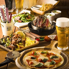NUTS SQUARE BEER GARDEN ナッツスクエア ビアガーデンのコース写真