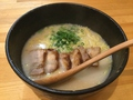 料理メニュー写真白湯チャーシュー麺