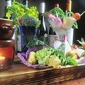 料理メニュー写真色彩野菜のピクルス