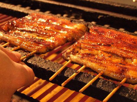 厳選した国産鰻のみを使用した鰻料理を堪能あれ!