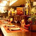 【炭火串焼き×ワイン】個室ワインビストロでこだわりのお料理やお酒をご堪能ください