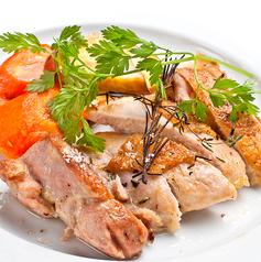 料理メニュー写真奥丹波産 鶏モモ肉の香草ロースト