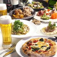 【本格料理を完全個室で♪】本格イタリアンにカラオケ付