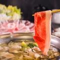 料理メニュー写真新鮮レタスと豚の塩しゃぶしゃぶ(1人前)