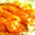 料理メニュー写真海老のチリソース炒め