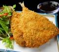 料理メニュー写真イカフライ/カニクリームコロッケ/アジフライ(1個)