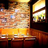 テーブル席3池袋 、東口のバルでご宴会、接待 、飲み放題 、ワインを。
