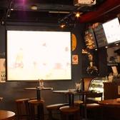【大型スクリーン・テレビモニターも設置】スポーツ観戦やパーティー、2次会にもピッタリ!貸切宴会も可能☆お気軽にお問い合わせください。