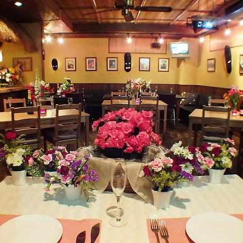 結婚式・二次会・貸切・女子会!に人気のRoots South※Roots福岡の姉妹店です。