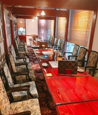 【中宴会席】最大20名様までの個室席。