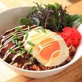 料理メニュー写真プレミアムロコモコ(テリヤキソース)