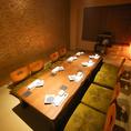 接待・会食など大切なお食事会にご利用頂きやすい、お座敷個室もございます!