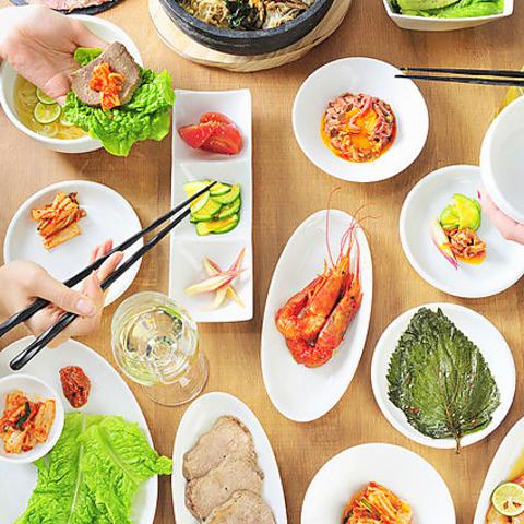 本場の韓国料理を味わいたい方に◎韓国で修業したシェフの焼肉をご堪能ください!!