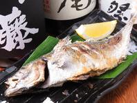 焼き魚、煮魚、煮つけまで脂がのった魚がうまい