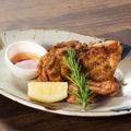 料理メニュー写真鶏もも肉の炭火焼