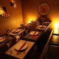 6名様~8名様個室★合コン・飲み会・宴会・誕生日に◎嬉しい個室空間♪プライベートな空間★