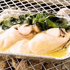 料理メニュー写真カキの磯バター焼き