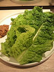 包み野菜盛り合わせの追加