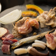 ◆石焼で旨味UP◆遠赤効果で焼くおいしい野菜を♪