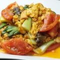 料理メニュー写真トマトと卵の炒め