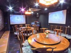 ◆自然と会話が弾むプライベートな空間で楽しくお食事を♪最大30名様収容可能で各種宴会シーンに使える!カラオケ設備完備!歌って飲んで、盛り上がること間違いなし♪