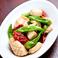 料理メニュー写真イカとしし唐のアンチョビマリネ